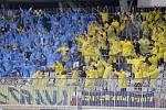 Fanoušci Opavy na Andrově stadionu