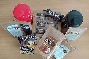 Výherce soutěže získá balíček proteinových výrobků od olomoucké firmy Protein&Co.