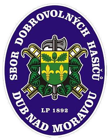 Znak SDH Dub nad Moravou