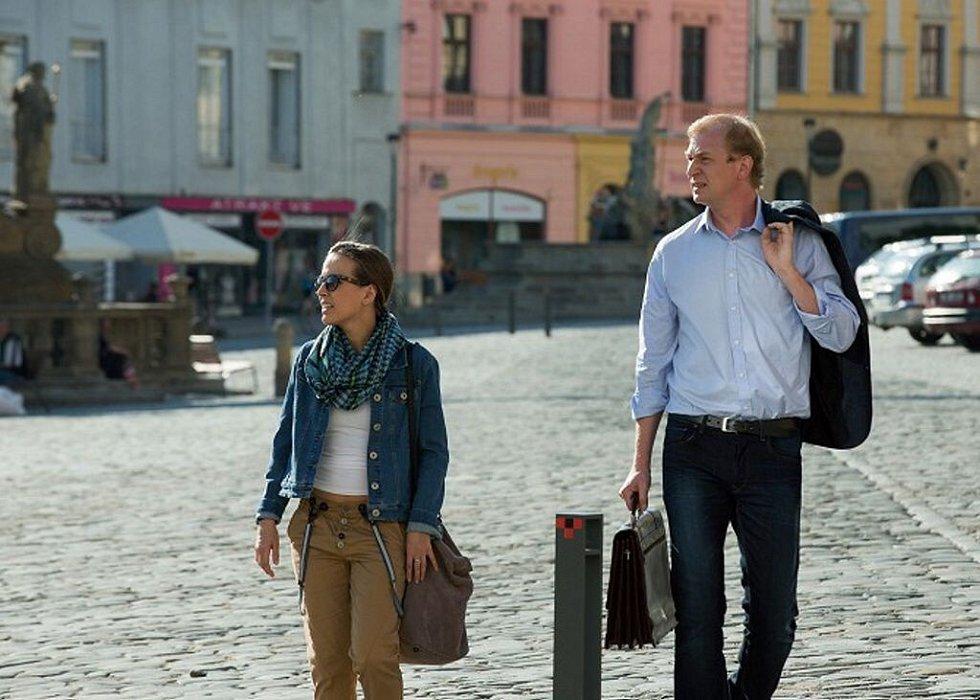 Modré stíny, detektivní seriál ČT podle románu olomouckého spisovatele Michala Sýkory