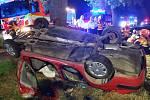 Nehoda u Odrlic na Olomoucku, pět zraněných. 17. 7. 2021