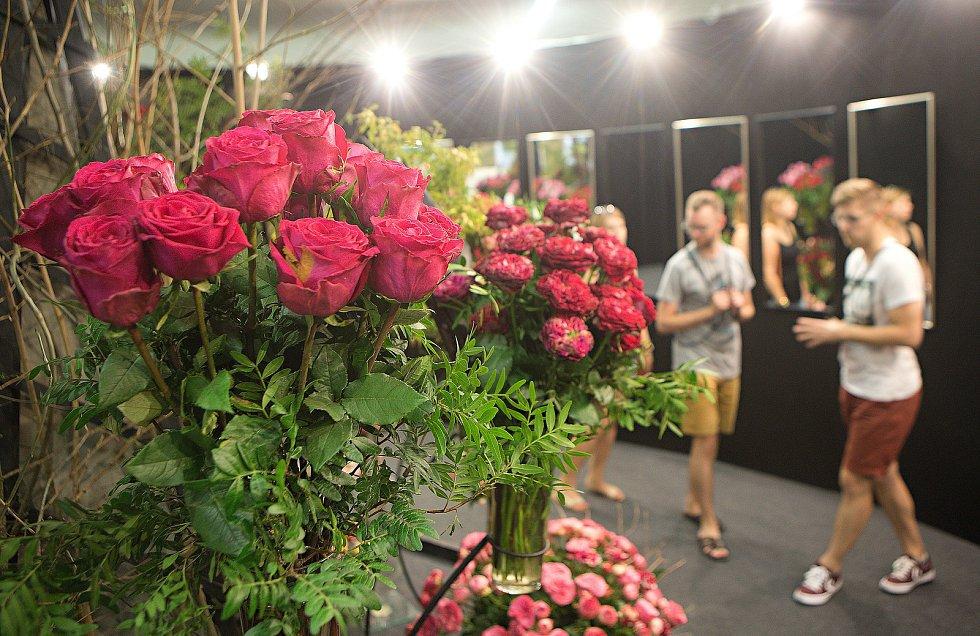 Letní etapa výstavy květin Flora Olomouc 2018.