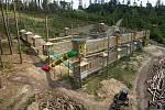 Obnovené lanové centrum v zoologické zahradě na Svatém Kopečku. 18. května 2020