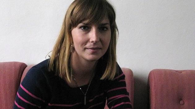Odbornice na volební kampaně politoložka Eva Lebedová z Filozofické fakulty Univerzity Palackého