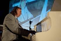 Rick Wakeman na koncertu v olomouckém kongresovém centru Clarion