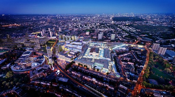 Mezi nejvýznamnější práce architektonické kanceláře Benoy patří například nákupní centrum Westfield Stratford City vLondýně.