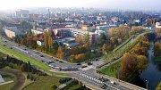 Napojení nové tramvajové trati mezi ulicemi Rokycanova a Velkomoravská