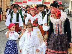 Setkání krojovaných Hanáků v Olomouci