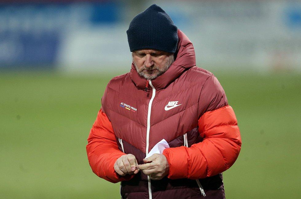 Trenér Sparty Pavel Vrba