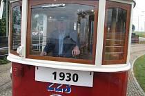 Historická tramvaj 233