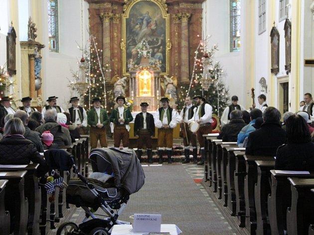 Vánoční zpěvy ve Velkém Týnci