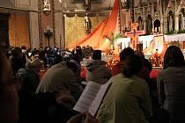 Dny důvery v Olomouci - společná modlitba katedrála sv. Václava