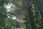 Lesní cestu k Lovecké chatě u Horky nad Moravou zavře oprava