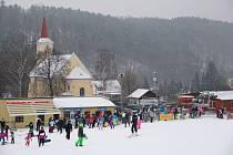 Ski Areál Hlubočky.
