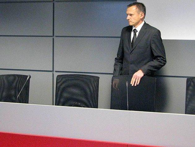 Reditel FNOL Radomír Maráček u olomouckého krajského soudu