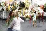 Symbolika narozeninové kytice bude provázet jarní etapu květinové výstavy. Flora Olomouc slaví 60 let od první zahradnické expozice