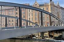 Most v Masarykově ulici v Olomouci, 21. ledna 2021