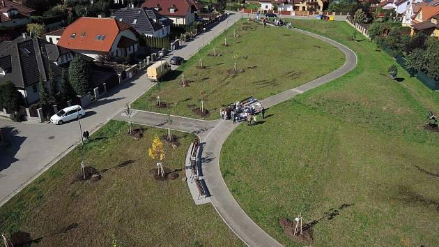 Nový Park Malého Noe v olomoucké čtvrti Neředín