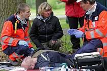 Redaktorka Deníku Hana Kubová na Rallye Rejvíz