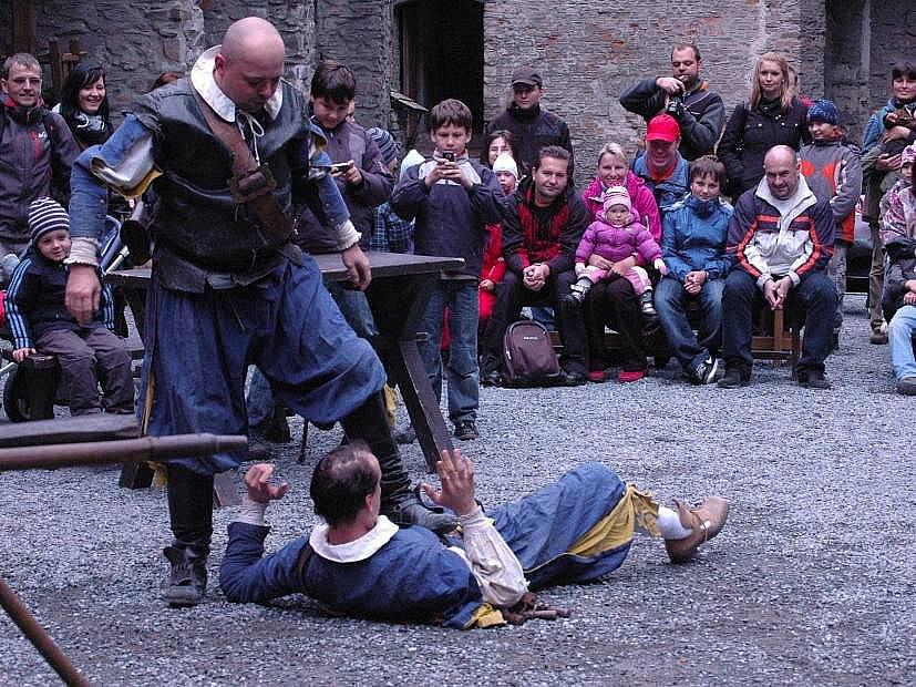 Hofmistrova závěť  na hradě Sovinec