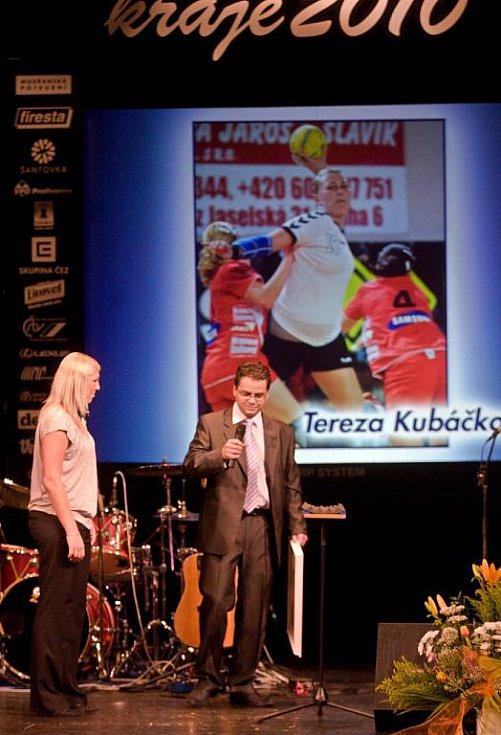 Z vyhlášení ankety o nejlepšího sportovce Olomouckého kraje za rok 2010