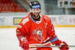Útočník HC Olomouc Petr Kolouch.
