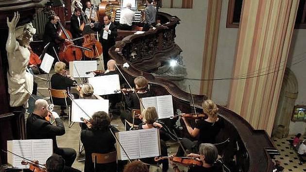 Koncert v chrámu sv. Mořice v Olomouci