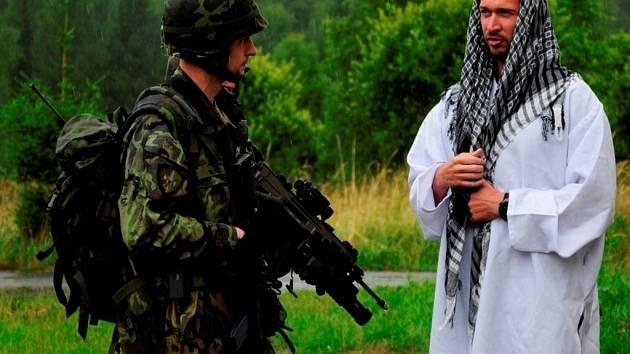Cvičení 3. Strážní roty BAF na Libavé. V říjnu bude nasazena v Afghánistánu