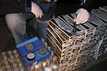Celníci zajistili pašované cigarety.