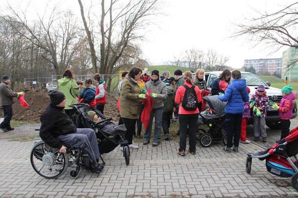 Úklid břehů Mlýnského potoka – 28. 3. 2015