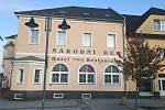Národní dům na náměstí v Moravském Berouně.