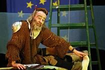 Představení Don Quijote de la Ancha v režii Bolka Polívky