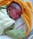 Matyáš Loun, Litovel, narozen22. června ve Šternberku, míra 50 cm, váha 3800g