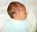 Pavel Janíček, Žerotín, narozen 29. září ve Šternberku, míra 50 cm, váha 3540 g