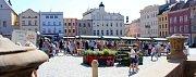 DED v Olomouci - trh na Dolním náměstí