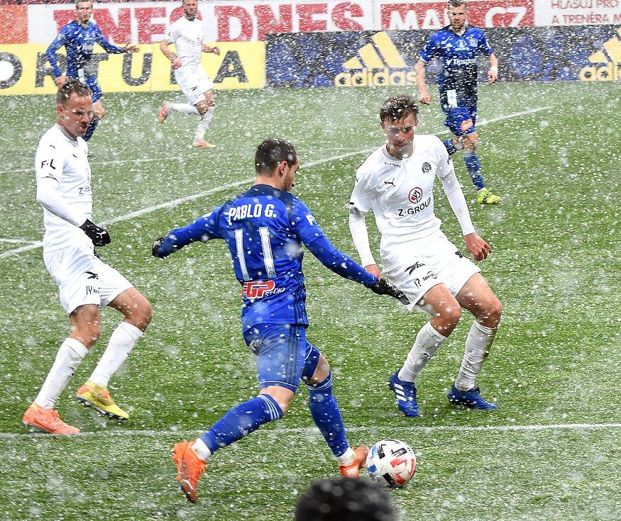 Olomouc remizovala doma se Slováckem v dohrávce 23. kola 0:0.Pablo González