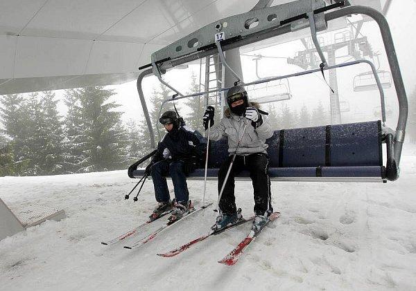 Nový lyžařský areál vKoutech nad Desnou