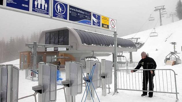 Skiareál v Koutech nad Desnou. Ilustrační foto