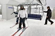 Skiareál v Koutech nad Desnou