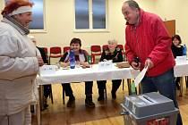 Druhé kolo senátních voleb v Hlušovicích