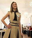 Lucie Šislerová, Gymnázium Čajkovského, Olomouc.  Představení finalistek Miss OK 2016 v Beauty Café v Olomouci