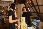 Pátý ročník knižního veletrhu autorských publikací LITR v areálu Uměleckého centra Univerzity Palackého na konviktu.