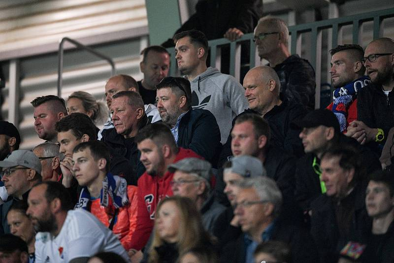 Utkání 8. kola první fotbalové ligy: SK Sigma Olomouc - FC Baník Ostrava 17. září 2021 v Olomouci. Fanoušci.