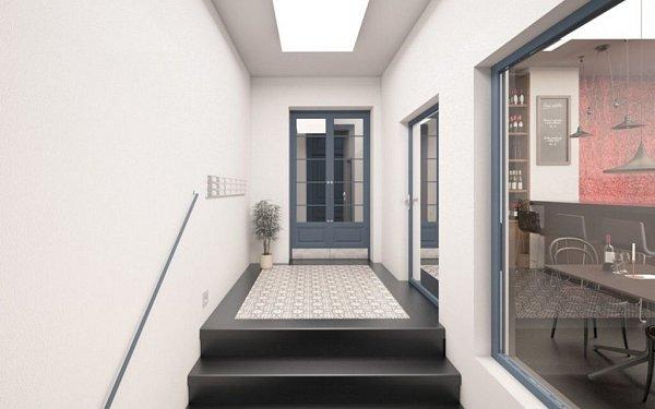 Vizualizace bytového projektu Palackého 17-19vOlomouci