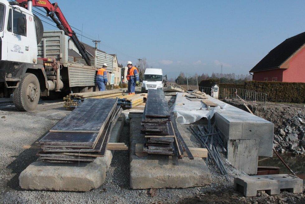 Rekonstrukce průtahu obcí Pňovice na Olomoucku