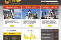 Nový web uničovské radnice