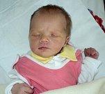 Anežka Válková, Šternberk, narozena 19. září ve Šternberku, míra 50 cm, váha 3040 g