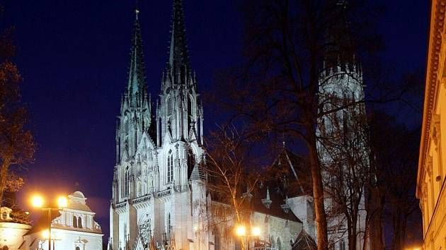 Olomoucký dóm, katedrála sv. Václava. Ilustrační foto
