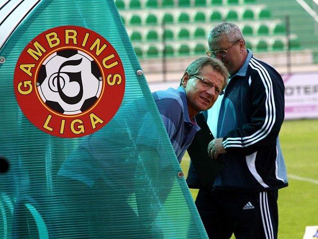 Vlastimil Petržela (vlevo) věří v úspěch svého týmu.