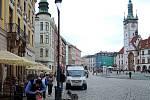 Lampa Philips UbanStar na Horním náměstí v Olomouci